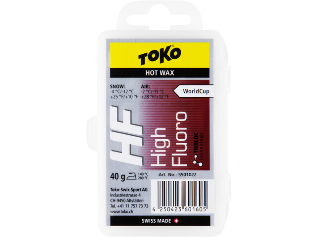Toko HF Hot Wax 40 g red